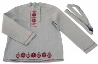 Children's kosovorotka with embroidery