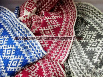 "Scarf ""cling to happiness"", Holy Russia"""