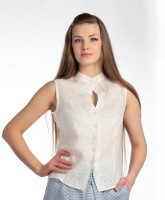 Linen blouse with embroidery (1)