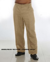 Linen trousers classic style
