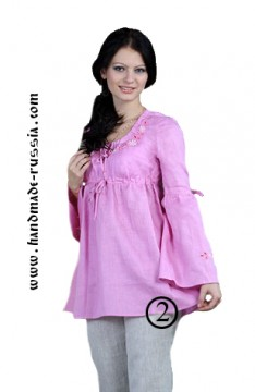 blouse, colorful and expressive, buy webmoney, Flax 100%, linen, national clofhe, russia,  gift, podarok, suvenir
